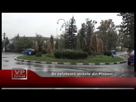 Se asfalteaza strazile din Plopeni