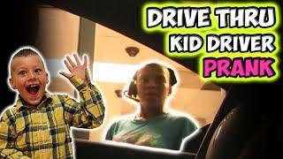 Video DRIVE THRU KID DRIVER PRANK!! MP3, 3GP, MP4, WEBM, AVI, FLV September 2017
