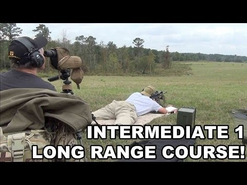 Intermediate 1 Long Range Course! Raidon Tactics Spotter/Shooter Training