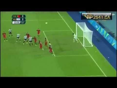 [ไฮไลท์]โปรตุเกส 2-0 อาร์เจนตินาโอลิมปิก 2016