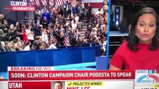 MSNBC - Clinton loses Election Reactions