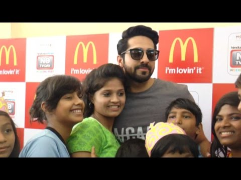 Ayushmann Khurrana's Adorable Outing With Kids On