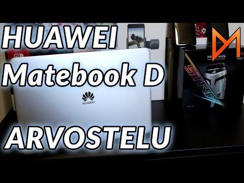 Läppäri kouluun ja pelaamiseen? | Huawei Matebook D arvostelu