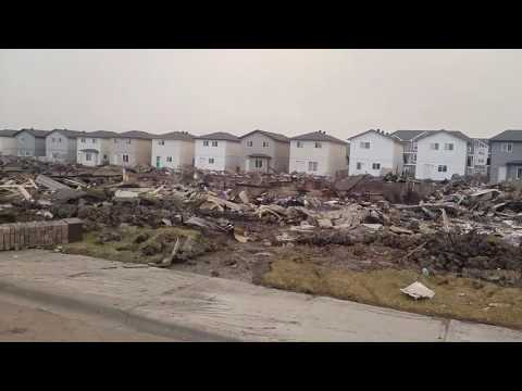 Fort McMurray fire. A look at some of the damage.