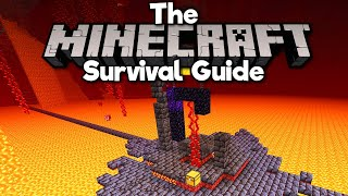 Ruined Portal Hoglin Farm! • The Minecraft Survival Guide (Tutorial Lets Play) [Part 327]