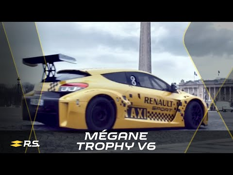 renault mégane trophy v6 che fa da taxi!