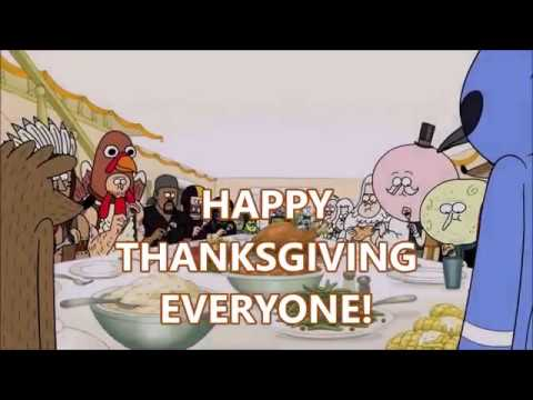 What Are You Thankful For (Thanksgiving Animated Crossover Special)