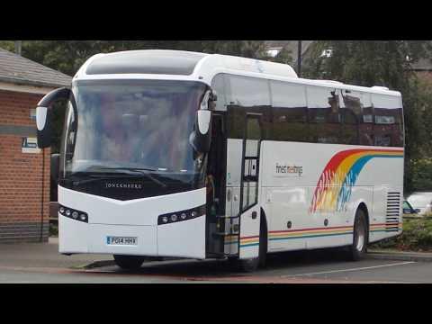 BUS COACH COACHES YORK YORKSHIRE ENGLAND PHOTO VIDEO