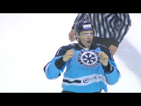 KHL Fight: Menshikov VS Glumac (видео)