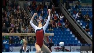 K. Afanasyeva - FX EF - European Gymnastics Championships 2013