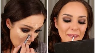 GLAM GRWM! Behind The Scenes at my Channel Trailer Shoot! by Chloe Morello