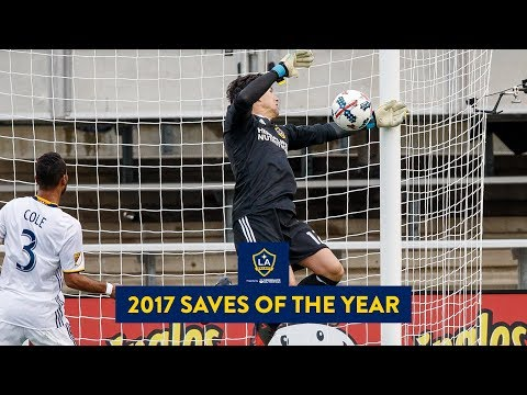 Video: All the best saves from the LA Galaxy's 2017 season