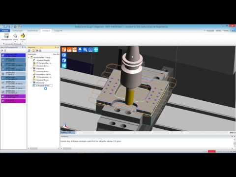 Fresamento com Edgecam (видео)