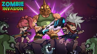 Zombie Invasion Game has arrived! Zombie Invasion could be a deadly mixture of RPG and Zombie killing. This game permits you to be the hero who shoulders the protection of his village and whole humanity. The sole goal you have got is to travel on the far side your limits to terminate zombies!Google Play link: https://play.google.com/store/apps/details?id=com.gamesbond.zombieinvasion==========================================► SUBSCRIBE HERE:- https://goo.gl/dkAxut===========================================► FOLLOW ME ON TWITTER:- goo.gl/edgv25► LIKE US ON FACEBOOK:- goo.gl/IPs2wI► CONNECT US ON GOOGLE+:- goo.gl/MuKW3B============================================In Zombie Invasion Gameplay presently as you decide on your character you may be drawn in to the planet of zombies. Together with your weapon in hand, you begin killing zombies one by one. There'll be waves of zombies returning which can grow stronger with every level. You may be able to collect coins and gems by killing them. Same goes for you, with every wave you may gain expertise and level up further.There will be zombies coated in blue and red auras. The zombies in red aura can drop potions for H.P. and strength. These Potions can assist you in dire circumstances. The controls are terribly straightforward, by sound left and right your character can attack. Train your hero, you'll be able to favor to upgrade the talents of your hero. At every level up you may be able to opt for that ability you wish to find out, from the 3, only 1 ability is granted. The games graphics are excellent. The Zombie Invasion includes numerous terrains and environments for you to fight in. it's quite twelve forms of alarming zombies which can do something to form you dead. Gems – whereas battling you may expertise zombies that are emanating blue aura. If you kill those zombies you may get blue colored gems. These gems are terribly precious as they assist you strengthen your characters stats. There are seven characters therefore e