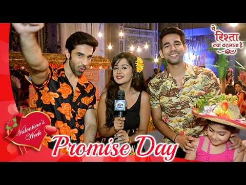 Naksh & Gayu's SWEET Promise On Promise Day | Vale