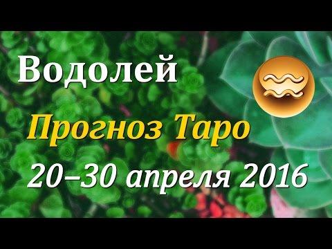 Водолей гороскоп Таро с 20 по 30 апреля 2016 - DomaVideo.Ru