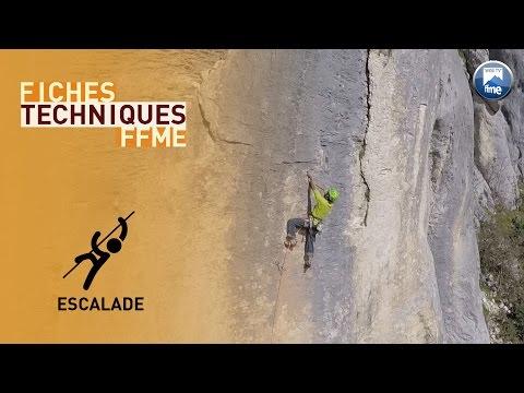 Escalade - Fiches Techniques FFME - Manœuvre de haut de voie