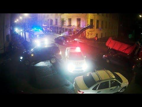 Авария в Серпухове на улице Волгоградской