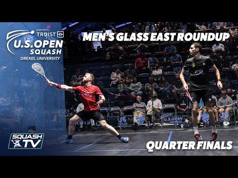Squash: U.S. Open 2021 - Men's Glass East Roundup - QF