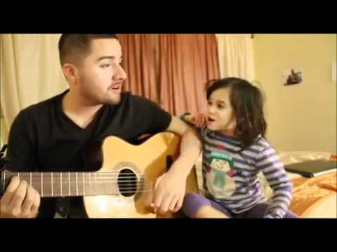 duet - Jorge Narvaez and his adorable daughter Alexa perform a cover of Edward Sharpe and The Magnetic Zeros song, 'Home'.