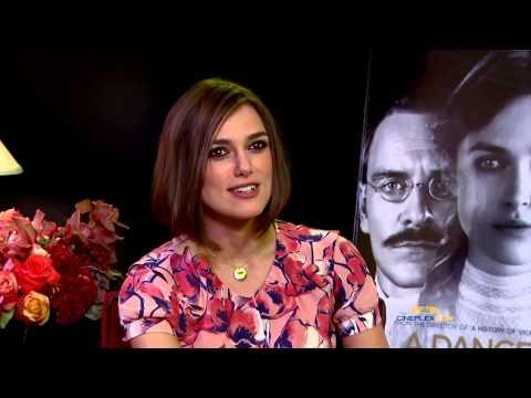 Keira Knightley and David Cronenberg, A Dangerous Method - Cineplex Interview