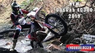4. FIRST RIDE NEW GAS GAS EC 300 2019 Six Days | River Test