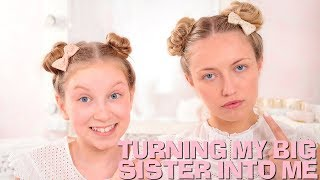 Video TURNING MY BIG SISTER INTO ME! 🤣 | Coco's World MP3, 3GP, MP4, WEBM, AVI, FLV November 2018