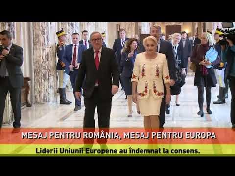 Mesaj pentru România, mesaj pentru Europa