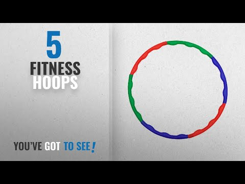 Top 10 Fitness Hoops [2018]: GSI Collapsible Kids Hula Hoop Exercise Ring for Aerobics and Weight