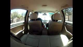 How to pass your drivers license test. 2004 BMW 325I stick shift. Just make sure not to speed, take everything nice and easy, there's no hurry and make sure you are prepared before you go. filmed with gopro.