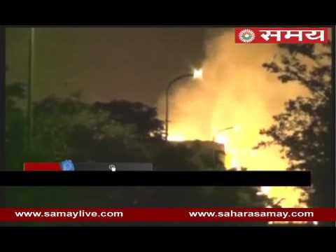 Fire in bio-diesel plant of Vishakhapattm