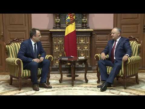 Глава государства провел встречи с новоназначенными послами Республики Молдова в двух зарубежных странах