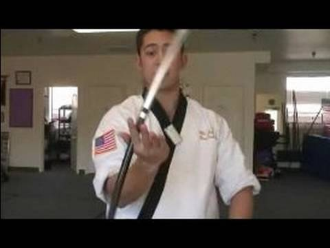 Martial Art Bo Staff Techniques : Bo Staff Wrist Spin Techniques