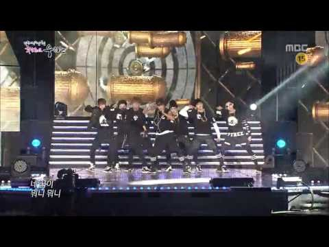 [130719] BTS - No More Dream @ MBC Changwon Hope Concert (видео)
