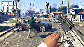 GTA 5 - 60 FPS First Person Mode Gameplay Trailer - Grand Thef...