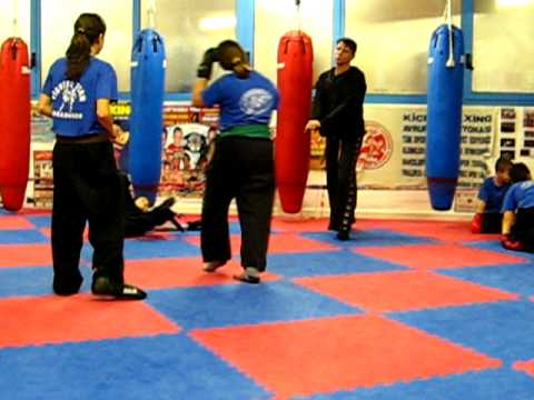 Combattimento bimbi semi contact Michael vs Giada