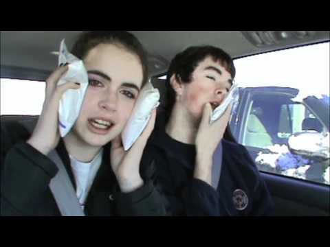Funny Brother and Sister after Dentist