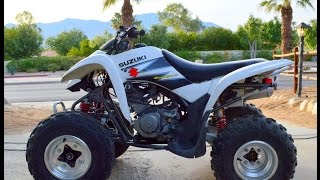 6. 2004 Suzuki LTZ 250 Quad Sport For Sale www.samscycle.net