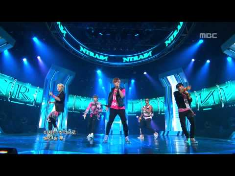 N-Train - I'll forget you, 엔트레인 - I'll forget you, Music Core 20120714 (видео)