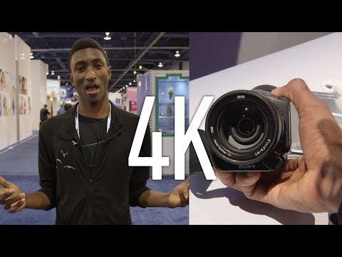 4K Cameras at CES 2014!