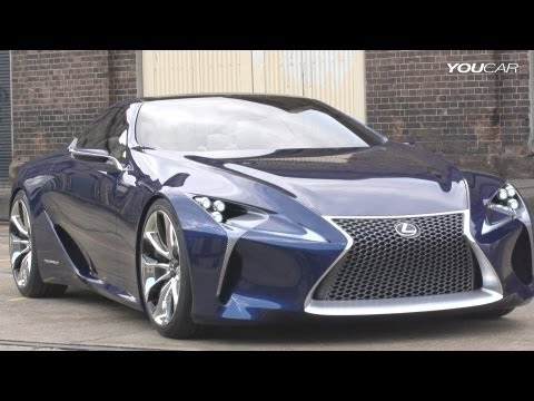 Lexus LF-LC Blue Concept Revealed In Australia