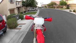 9. CRF450x Walkaround
