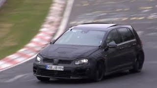2014 VW Golf 7 R Tested Hard On The Nürburgring Nordschleife!