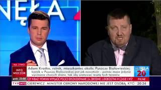 """KRAŚKO Z """"ROLNIK SZUKA ŻONY"""" EKSPERTEM OD PUSZCZY W TVP INFO"""