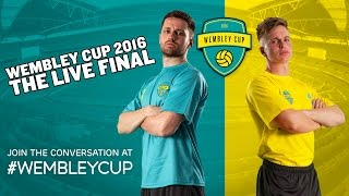 This is it. The LIVE Wembley Cup Final with EE! My team, Spencer FC, will face the Weller Wanderers in the biggest match of our ...