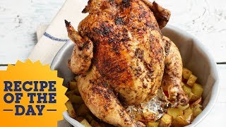 Bundt Pan Roast Chicken Hack