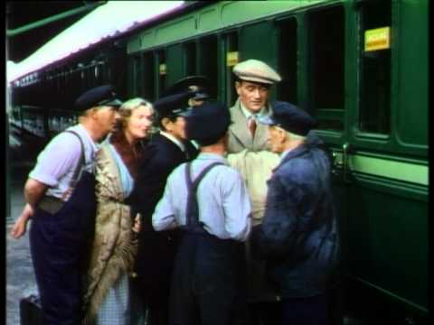 Arrival scene from The Quiet Man