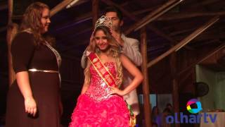 Coroados durante o Miss e Mister RS 2014