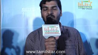 Cinematographer P  K  Varma Speaks at Cuckoo Success Meet
