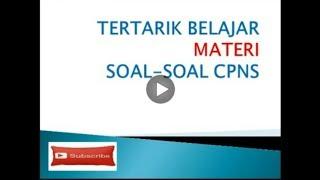 Nonton Soal CPNS versi full 2 Film Subtitle Indonesia Streaming Movie Download